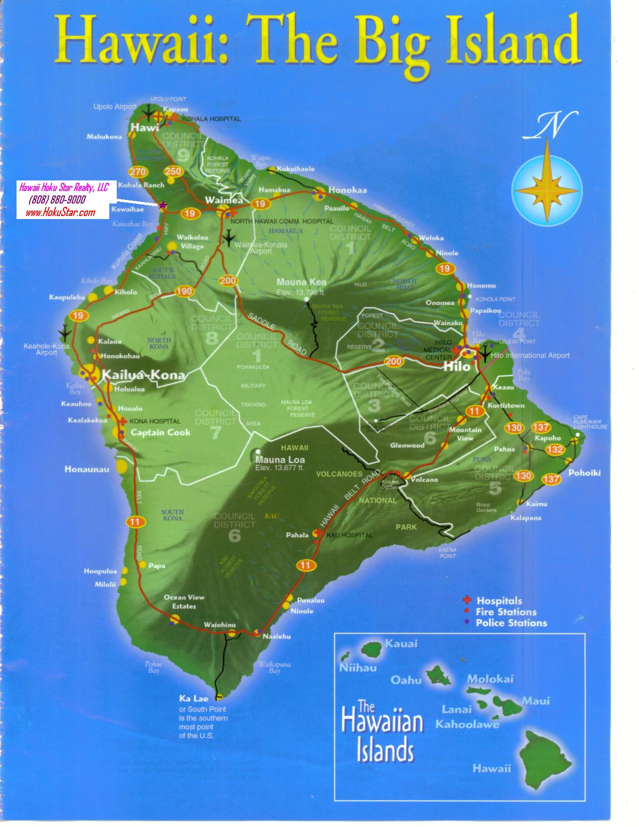 Maps Hoku Star Realty